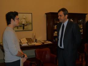 Intervista al direttore de La Stampa MarioCalabresi