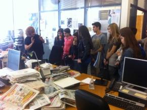 Il Terrazzino visita la sede del Corriere dellaSera