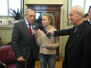 Intervista al Presidente del Senato PietroGrasso